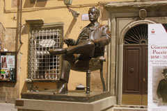 The Statue of Puccini