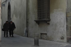 an alley of Lucca