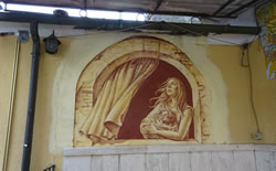 Casoli, the Village Decorated wth Sgraffito Paintings 2