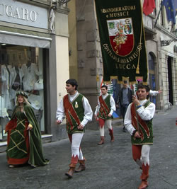A Historic Parade in Lucca