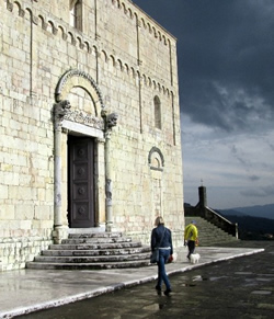 Barga's Romanesque Cathedral