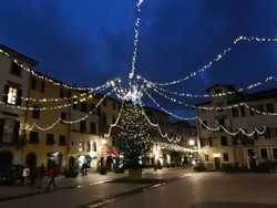 Lucca, San Francesco Square at Christmas